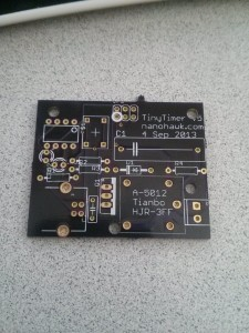 TinyTimer Classic Prototype board